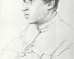 Portrait of I. K. Yuon, the artist's son — Константин Юон