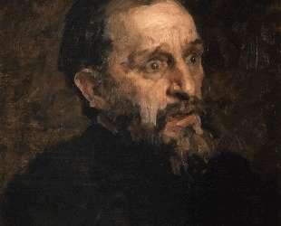 Портрет И. Репина (этюд) — Григорий Мясоедов