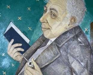 Portrait of Ilya Ehrenburg — Маревна