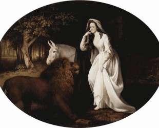 Portrait of Isabella Saltonstall — Джордж Стаббс
