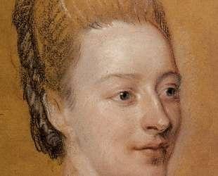 Portrait of Isabelle de Charriere — Морис Кантен де Латур
