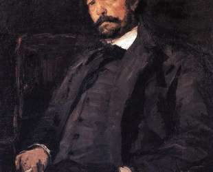 Портрет итальянского певца Анджело Мазини — Константин Коровин