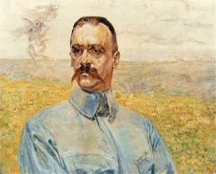 Portrait of Jozef Pilsudski — Яцек Мальчевский