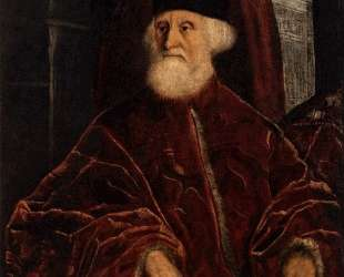 Portrait of Jacopo Soranso — Тинторетто