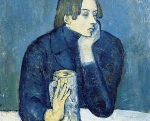 Portrait of Jaime Sabartes (The bock) — Пабло Пикассо