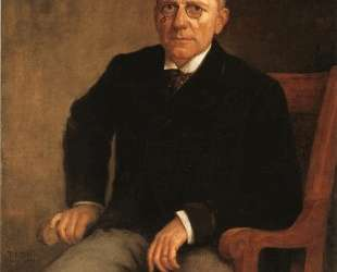 Portrait of James Whitcomb Riley — Теодор Клемент Стил
