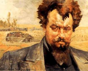 Portrait of Jan Kasprowicz — Яцек Мальчевский