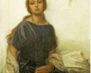 Portrait of Jaroslava — Альфонс Муха
