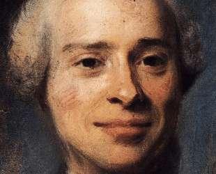Portrait of Jean Le Rond d'Alembert — Морис Кантен де Латур