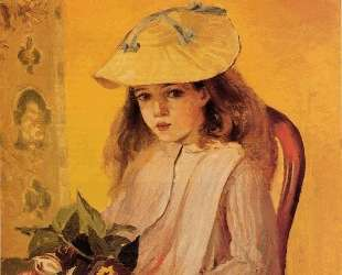 Portrait of Jeanne — Камиль Писсарро
