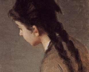 Portrait of Jeanne Gonzales in Profile — Ева Гонсалес