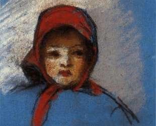 Portrait of Jeanne Rachel (Minette) — Камиль Писсарро