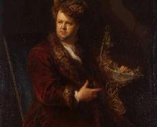 Portrait of Johann Melchior Dinglinger — Антуан Пэн