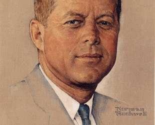 Portrait of John F. Kennedy — Норман Роквелл