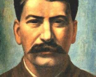 Портрет И. В. Сталина — Павел Филонов