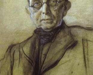Портрет К. П. Победоносцева — Валентин Серов