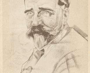 Портрет Каменева — Юрий Анненков