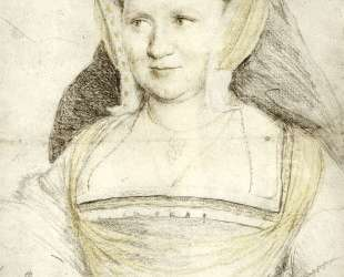 Portrait of Lady Mary Guildford — Ганс Гольбейн Младший
