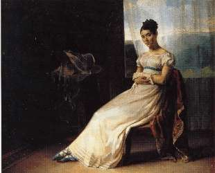 Portrait of Laura Bro — Теодор Жерико