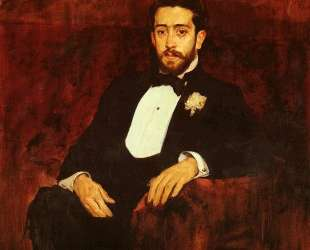Portrait of lawyer Don Silverio de la Torre y Eguia — Хоакин Соролья