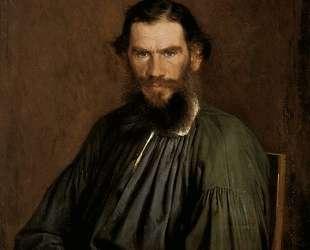 Portrait of Leo Tolstoy — Иван Крамской