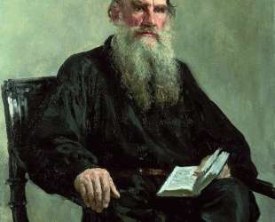 Portrait of Leo Tolstoy — Илья Репин