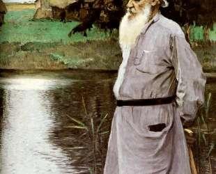 Portrait of Leo Tolstoy — Михаил Нестеров
