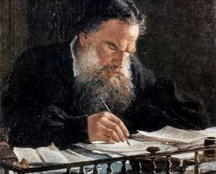Portrait of Leo Tolstoy — Николай Ге