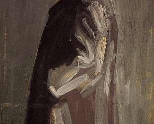 Portrait of Leopold Czihaczek, in Profile Facing Left — Эгон Шиле