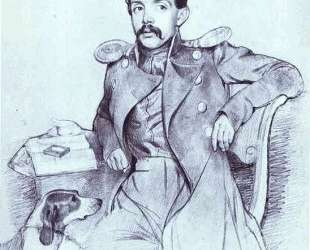 Portrait of Lieutenant Lvov — Павел Федотов