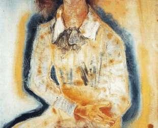 Portrait of Lotte Franzos — Оскар Кокошка