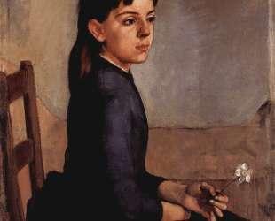 Portrait of Louise Delphine Duchosal — Фердинанд Ходлер