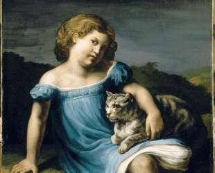 Portrait of Louise Vernet as a Child — Теодор Жерико