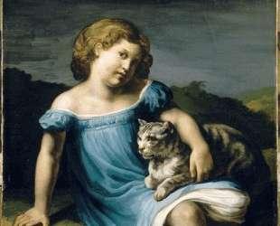 Portrait of Louise Vernet as a Child — Теодор Жерико