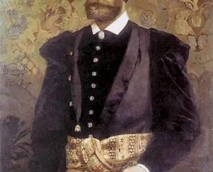 Portrait of Ludwik Wodzicki — Генрих Семирадский