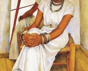 Portrait of Lupe Marin — Диего Ривера