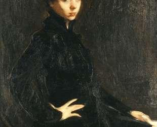 Portrait of Mlle. M. Horsch — Николаос Литрас