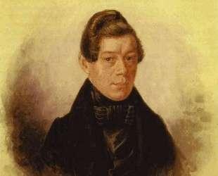 Portrait of M. M. Rodivanovsky — Павел Федотов