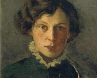 Портрет М. И.Нестеровой, первой жены художника — Михаил Нестеров
