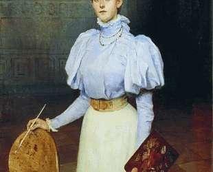 Портрет М. С.Шереметовой — Николай Богданов-Бельский