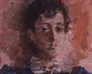 Portrait of M. V. Yakunchikova — Михаил Врубель