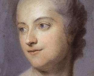 Portrait of Madame de Pompadour — Морис Кантен де Латур
