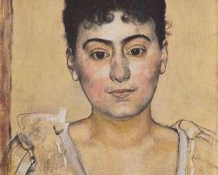 Portrait of Madame de R. — Фердинанд Ходлер