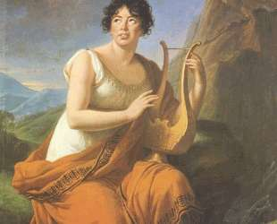 Portrait of Madame de Stael as Corinne — Элизабет Луиза Виже-Лебрен
