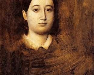 Портрет мадам Эдмондо Морбийи — Эдгар Дега