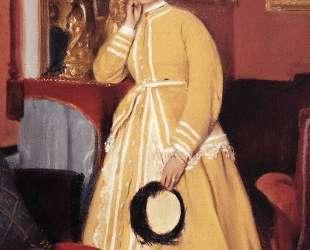 Портрет мадам Эдмондо Морбийи, урожденной Терезы Дега — Эдгар Дега