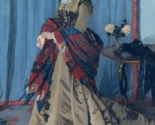 Портрет мадам Годибер — Клод Моне