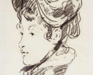 Portrait of madame Julles Guillemet — Эдуард Мане