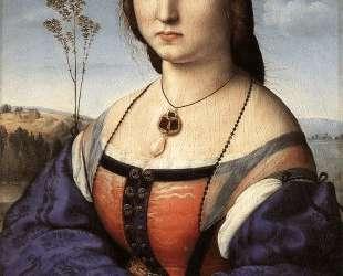 Portrait of Maddalena Doni — Рафаэль Санти