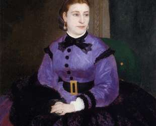 Portrait of Mademoiselle Sicotg — Пьер Огюст Ренуар